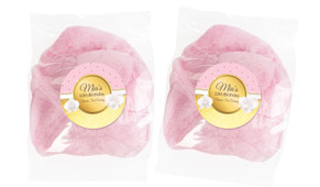 Pink & Gold Personalised Bags Of Fairy Floss