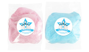 Ten Pin Bowling In Blue Personalised Bags Of Fairy Floss