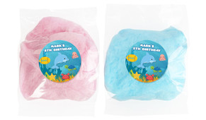 Under The Sea Personalised Bags Of Fairy Floss