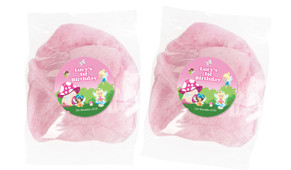 Fairy Garden Personalised Bags Of Fairy Floss