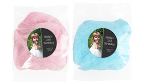 Chalkboard Photo Personalised Bags Of Fairy Floss