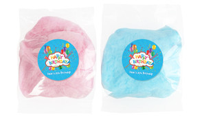 Happy Confetti Personalised Bags Of Fairy Floss