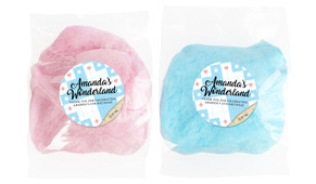 Alice In Wonderland Personalised Bags Of Fairy Floss