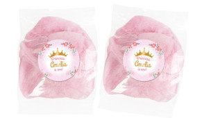 Princess Tiara Personalised Bags Of Fairy Floss