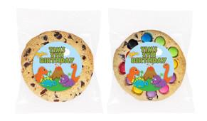 Dinosaur Personalised Birthday Cookie