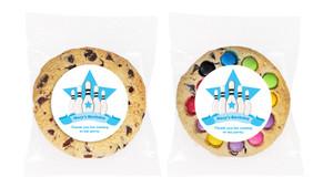 Ten Pin Bowling Personalised Birthday Cookie