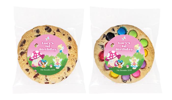 Fairy Garden Personalised Birthday Cookie