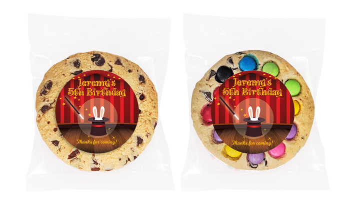 Magician Personalised Birthday Cookie