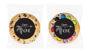 Boho Arrow Personalised Birthday Cookie