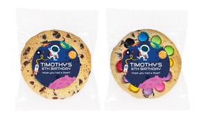 Astronaut Personalised Birthday Cookie