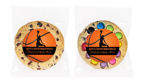 Basketball Personalised Birthday Cookie