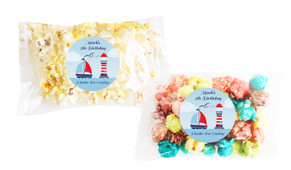 Boats At Sea Popcorn Bags With Personalisation