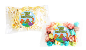 Dinosaur Popcorn Bags With Personalisation
