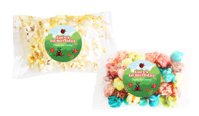 Lady Bugs Popcorn Bags With Personalisation