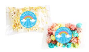 Rainbow Popcorn Bags With Personalisation