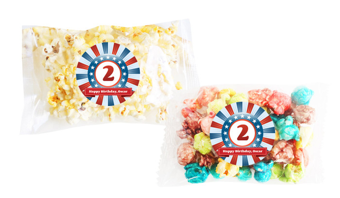 Superhero Popcorn Bags With Personalisation