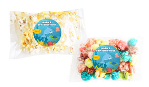 Under The Sea Popcorn Bags With Personalisation