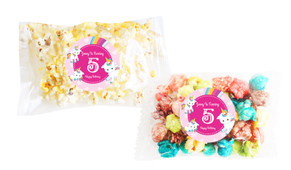 Unicorn Trio Popcorn Bags With Personalisation