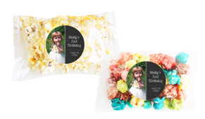 Chalkboard Photo Popcorn Bags With Personalisation