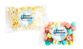 Alice In Wonderland Popcorn Bags With Personalisation