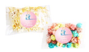Baby Shower Popcorn Bags With Personalisation