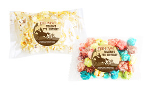 Cowboy Party Popcorn Bags With Personalisation