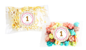 Gold Stars Popcorn Bags With Personalisation