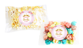 Princess Tiara Popcorn Bags With Personalisation