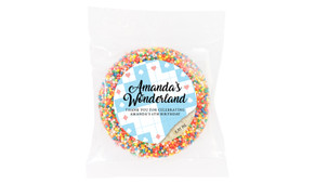 Alice In Wonderland Personalised Giant Chocolate Freckle