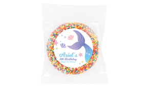 Mermaid Personalised Giant Chocolate Freckle