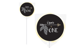 Boho Arrow Birthday Personalised Lollipops