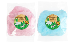 Jungle Animals Personalised Bags Of Fairy Floss