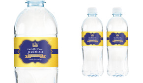 Little Prince Personalised Water Bottle Labels