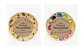 Bunting On Kraft Personalised Cookie