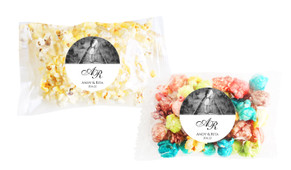 Add A Photo White Popcorn Bag With Personalisation
