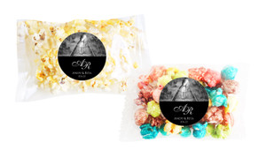 Add A Photo Black Popcorn Bag With Personalisation