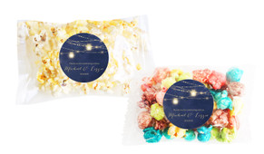 Evening Mason Jars Square Popcorn Bag With Personalisation