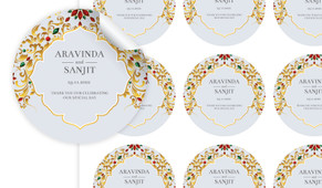 Decorated Jewellery Personalised 65mm Labels
