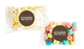 Let Us Design For You Popcorn Bag With Personalisation