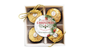 Bokeh Tree Christmas Ferrero Rocher Gift Box
