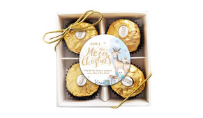 Deer Watercolour Christmas Ferrero Rocher Gift Box