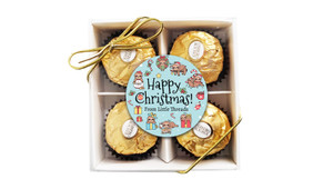 Sloth Christmas Ferrero Rocher Gift Box
