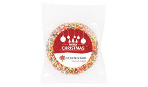 Corporate Custom Christmas Giant Chocolate Freckle