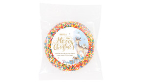 Deer Watercolour Custom Christmas Giant Chocolate Freckle