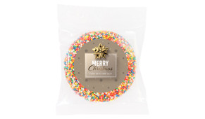 Glossy Gift Gold Custom Christmas Giant Chocolate Freckle