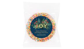Joy Custom Christmas Giant Chocolate Freckle
