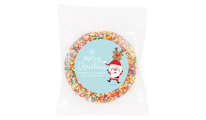 Piggy Back Custom Christmas Giant Chocolate Freckle