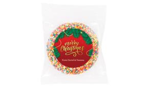 Red Festive Custom Christmas Giant Chocolate Freckle