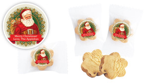 Classic Santa Bite-Size Personalised Cookie 5g