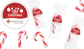 Corporate Personalised Mini Candy Canes